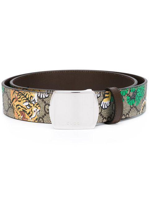 44d062c12d4 GUCCI Bengal Tiger Print Belt.  gucci  belt