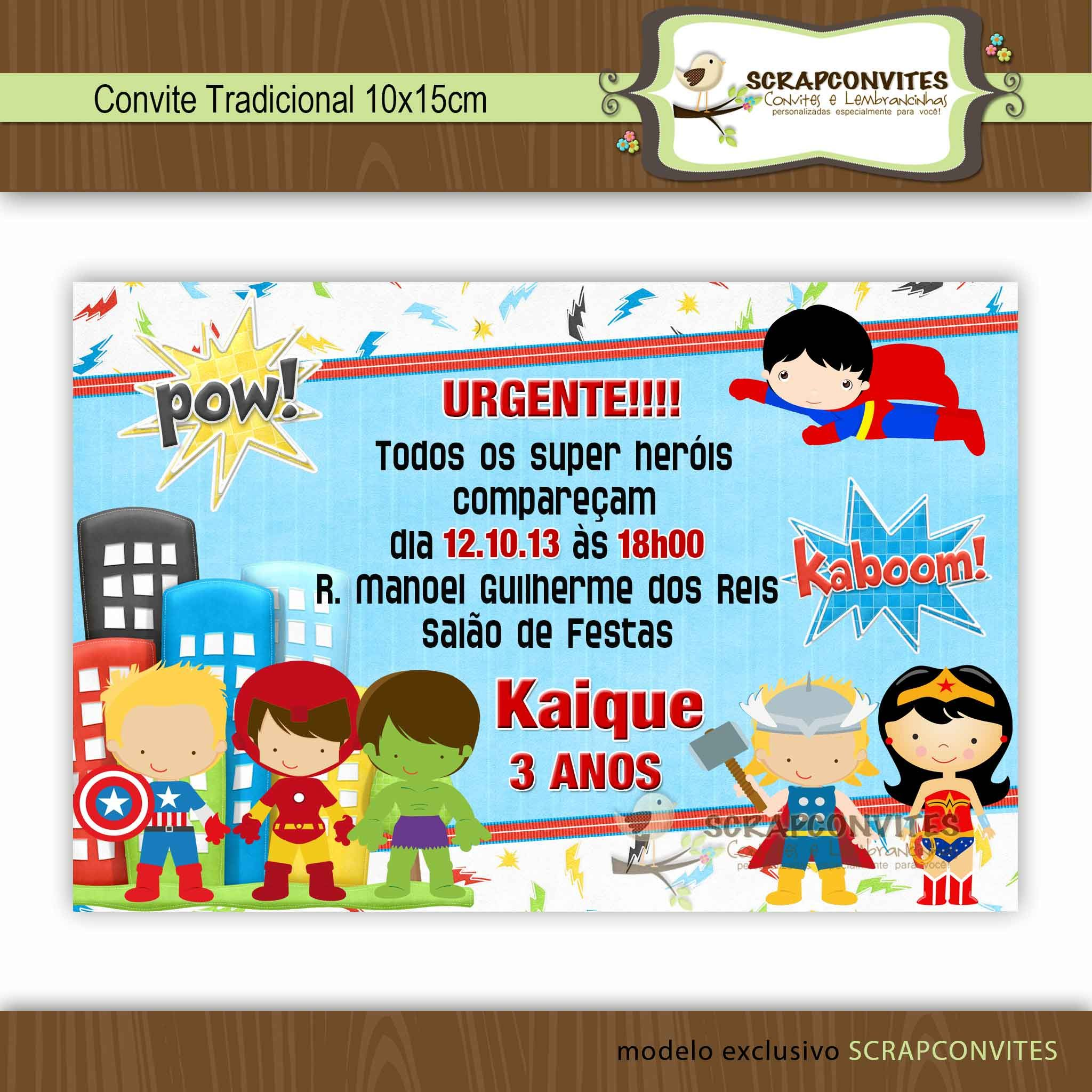 Convite De Festa Infantil Super Herois Pesquisa Google Artesanato