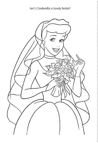 Coloriage Cendrillon Mariage.Wedding Wishes 34 Coloriage Et Dessin Coloriage