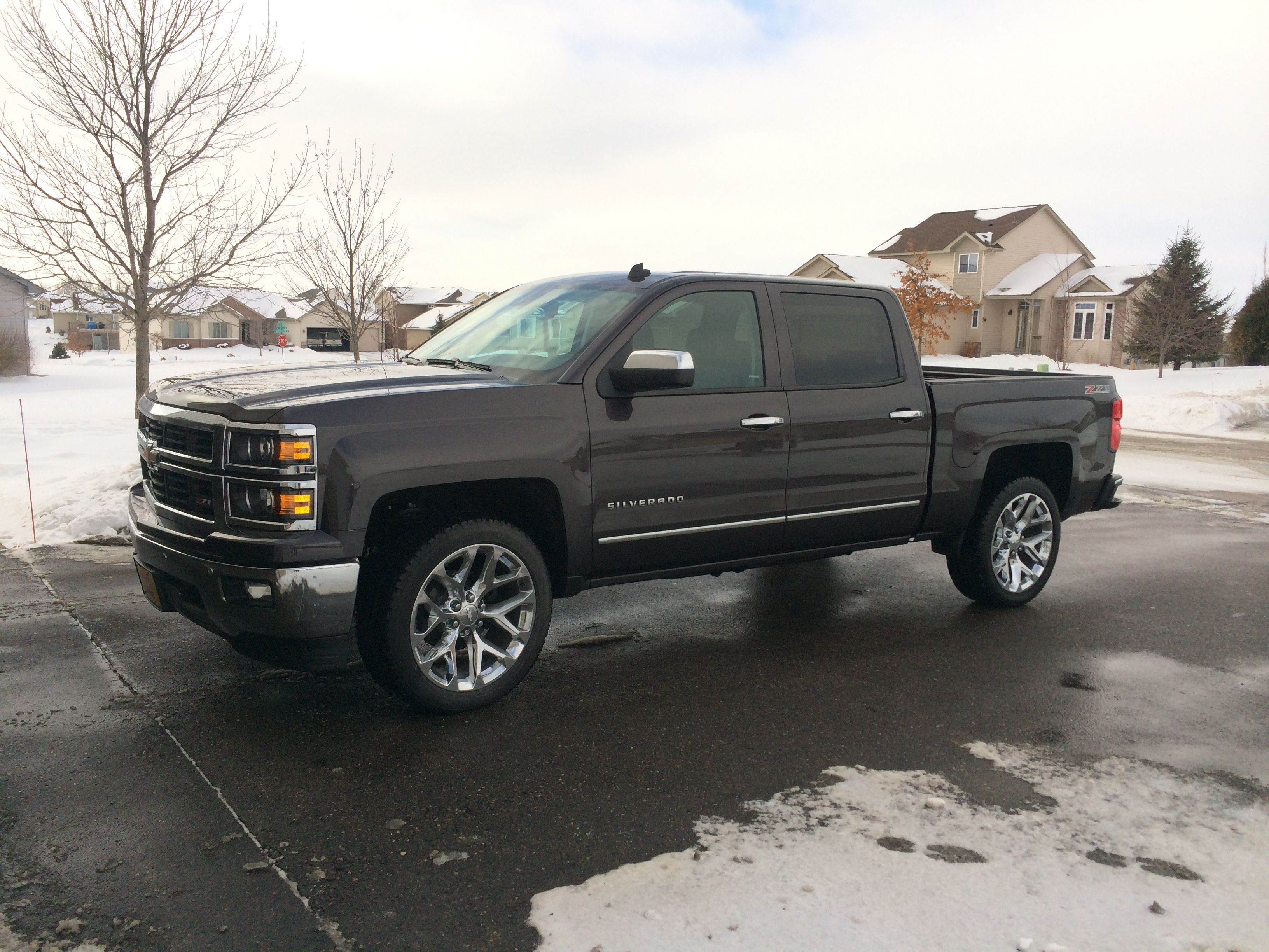2014 Silverado Ltz Z71 With 22 Rims New Pickup Trucks Chevy