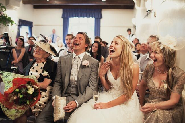 Make Your Guests Laugh With These Funny Wedding Readings
