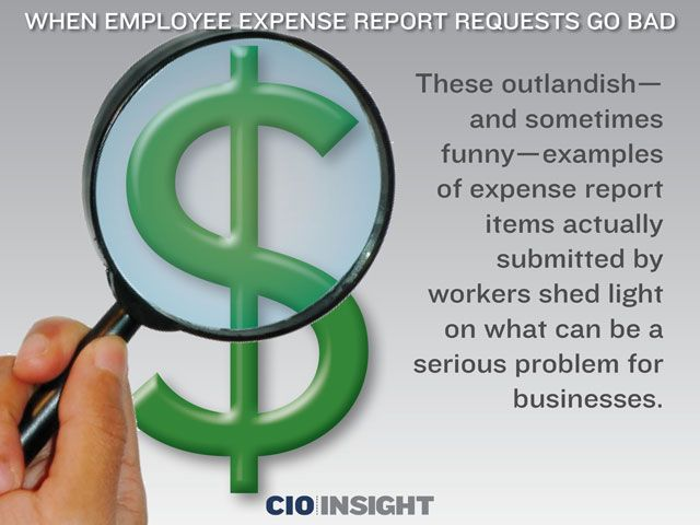 When Employee Expense Report Requests Go Bad LinkEmUp - examples of expense reports