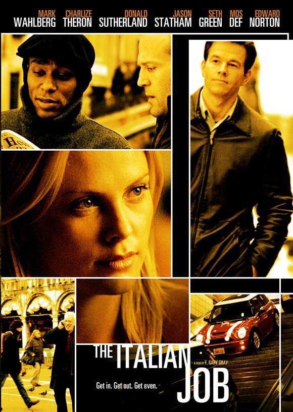 The Italian Job 11x17 Movie Poster 2003 Filmes Cinema E Shows