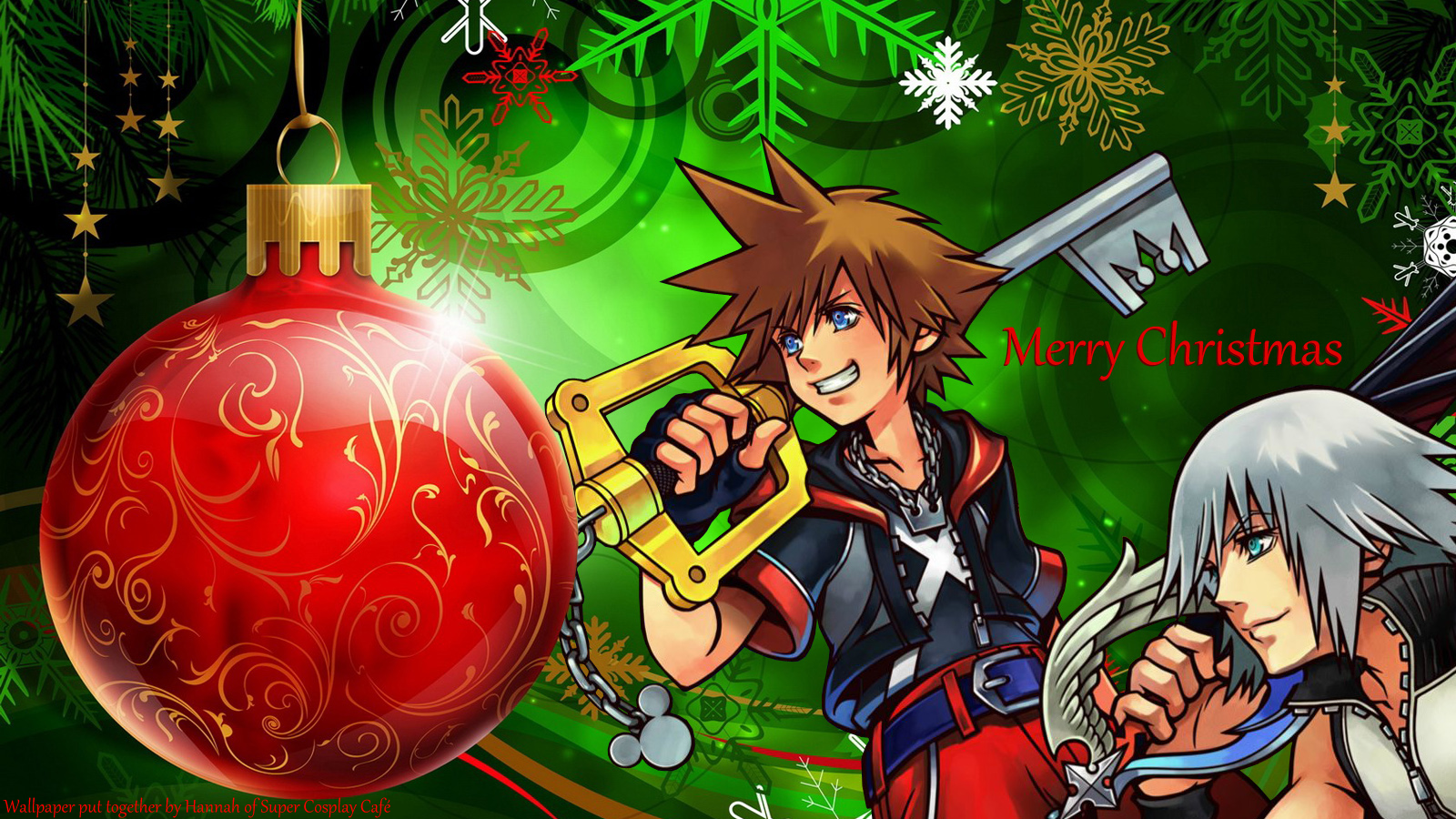 Kingdom Hearts Christmas wallpaper | Christmas! | Pinterest ...