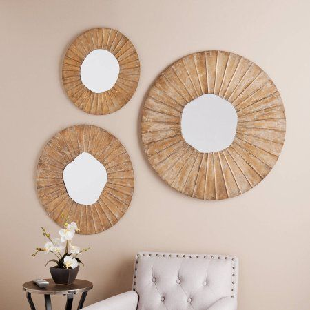 Southern Enterprises Salem Decorative 3-Piece Mirror Set ...