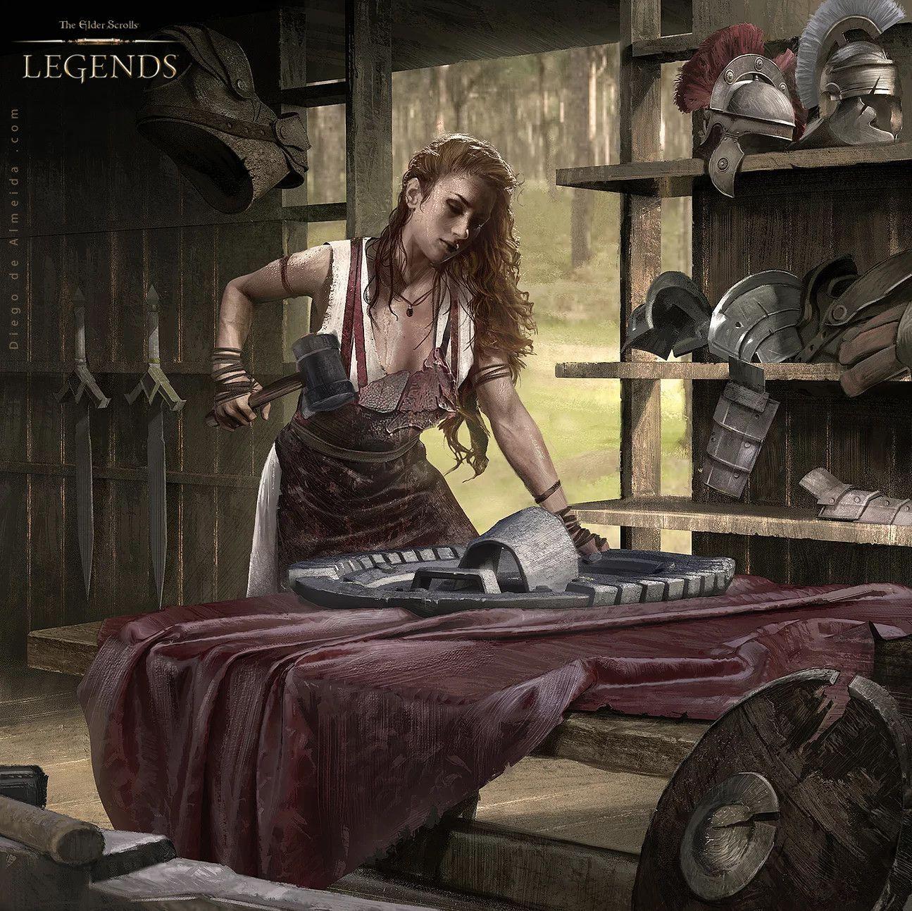 Blacksmithing armorsmith