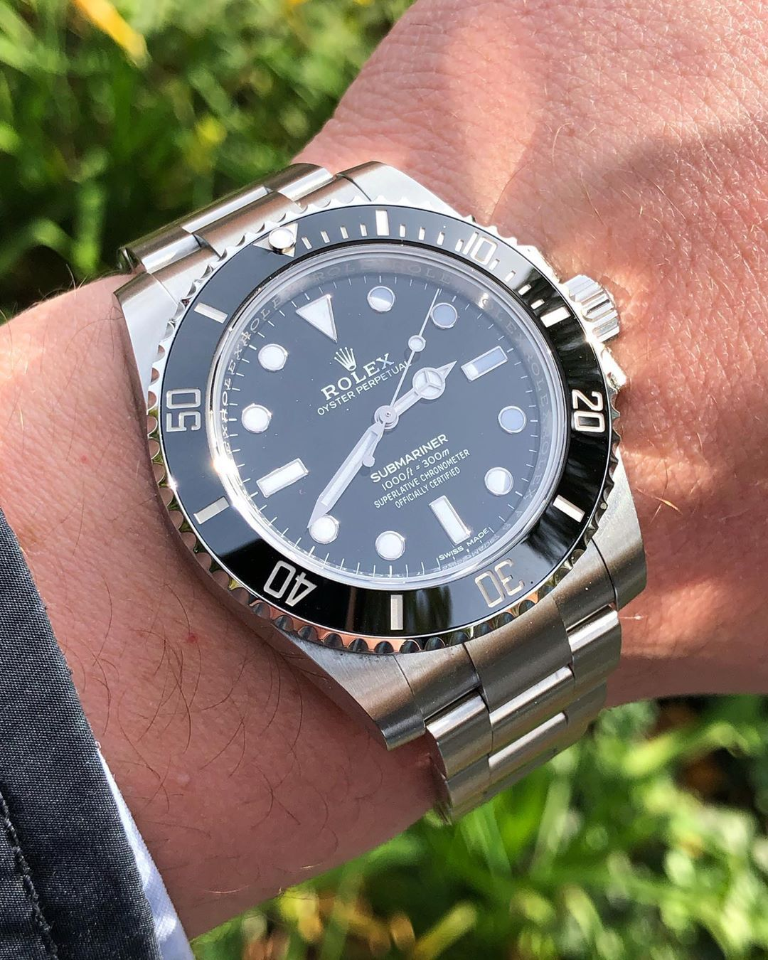 how to tell if a rolex is real oyster perpetual submariner