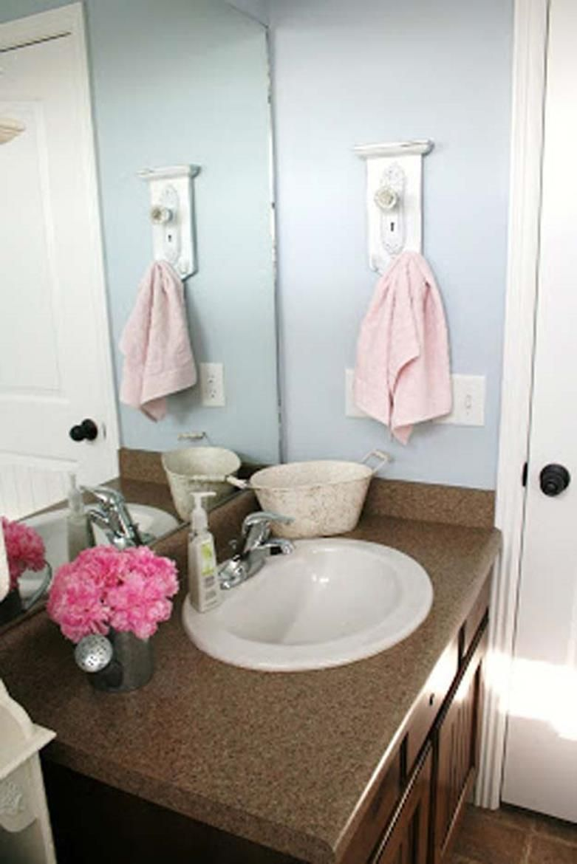 27 Simple But Beautiful Bathroom Towel Hanger Ideas | Bathroom ...