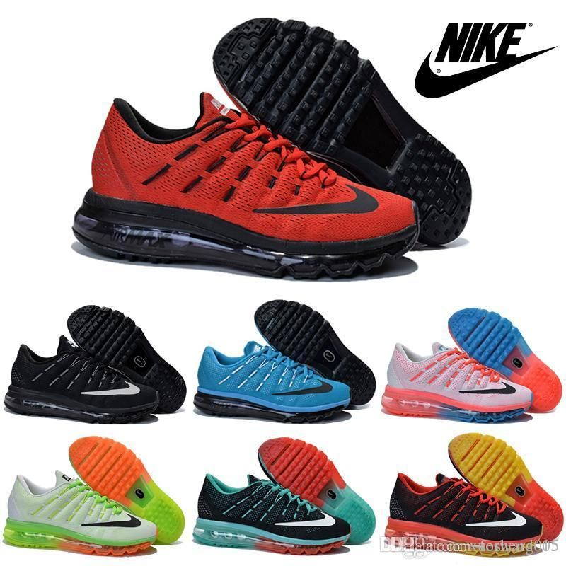 Choosing wholesale nike air max 2016 flyknit men's & women's running shoes  100% original new