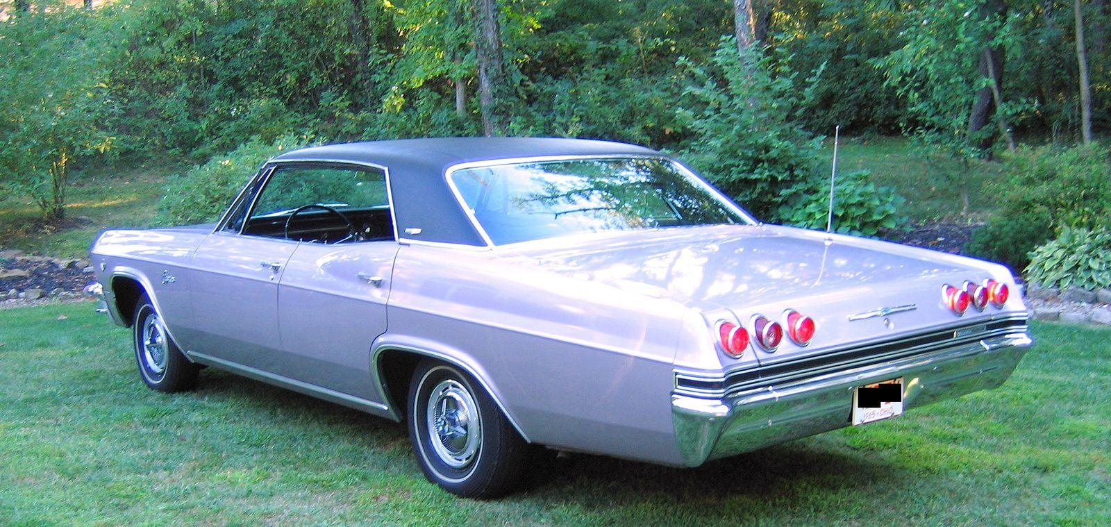 1965 Chevrolet Impala Caprice 4 Door Hardtop Sedan Chevrolet Impala Chevrolet Impala 1965 Classic Cars Trucks