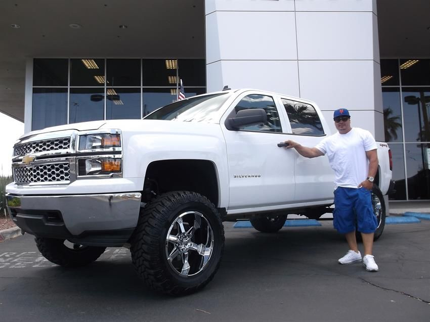 Richard's new 2014 CHEVROLET SILVERADO ! Congratulations and best wishes from Findlay Acura and JUAN AGUILAR. http://findlayacura.com