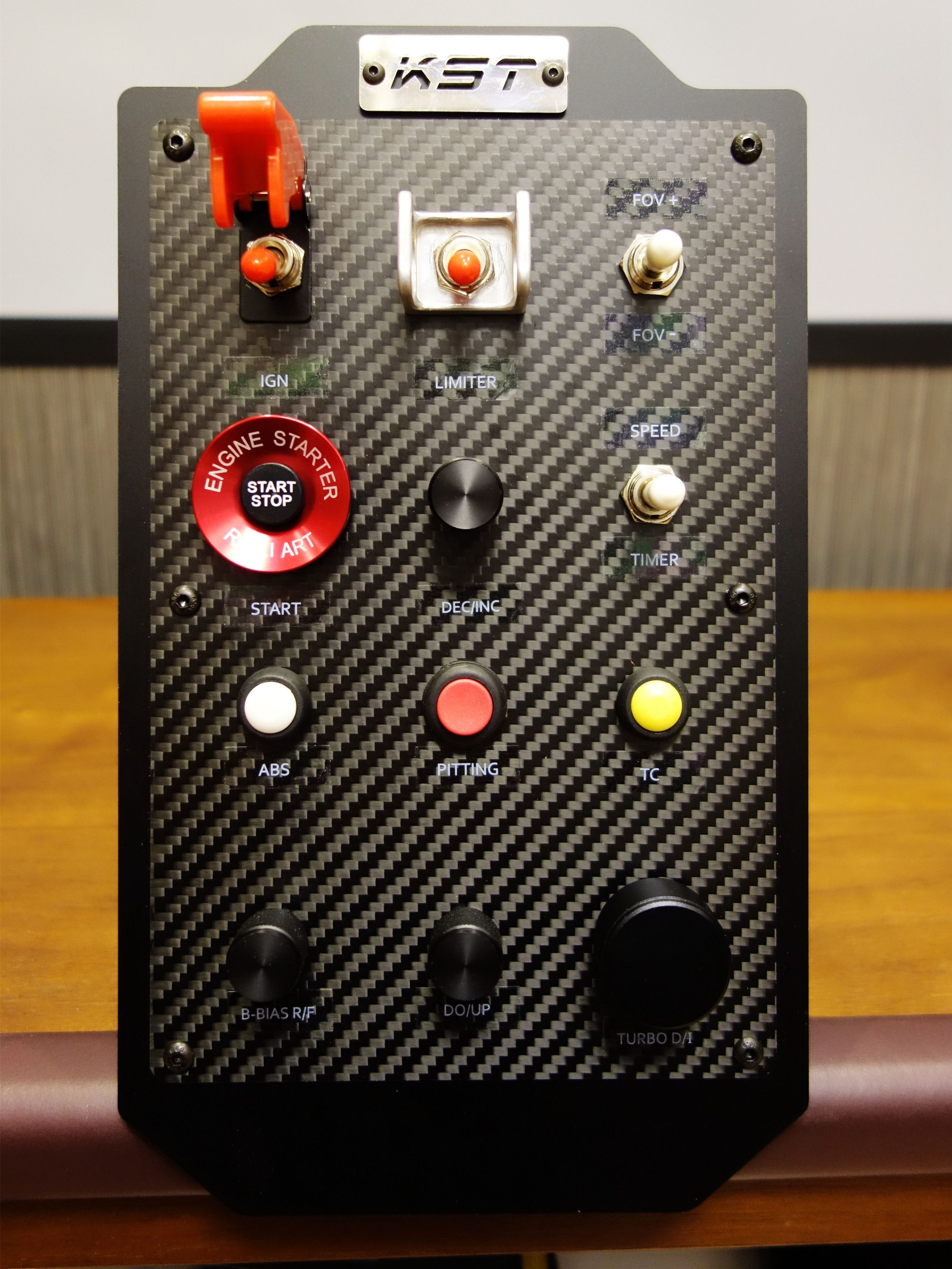 KST SIM Racing Box Analog racing control box Racing Truck 2 option 1