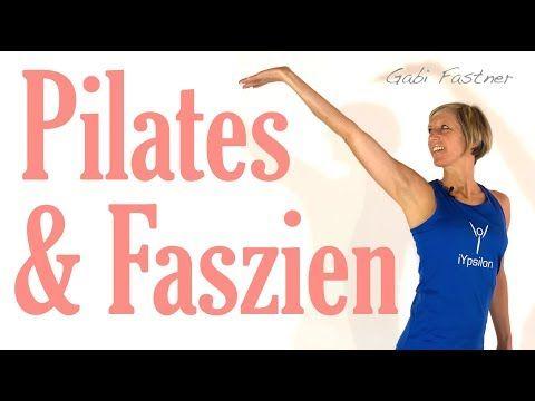 � 30 min Pilates Kurs und Faszien Fitness, ohne Hilfsmittel