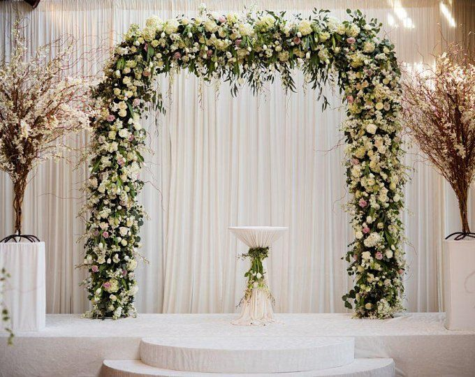 Wedding Arch Decor Wedding Backdrop Ceremony Arch Wedding Decor Wedding Decorations Floral arch Wedding Foto Backdrop