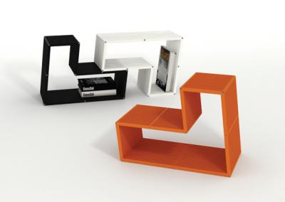 Modular Shelving by Zanini de Zanine