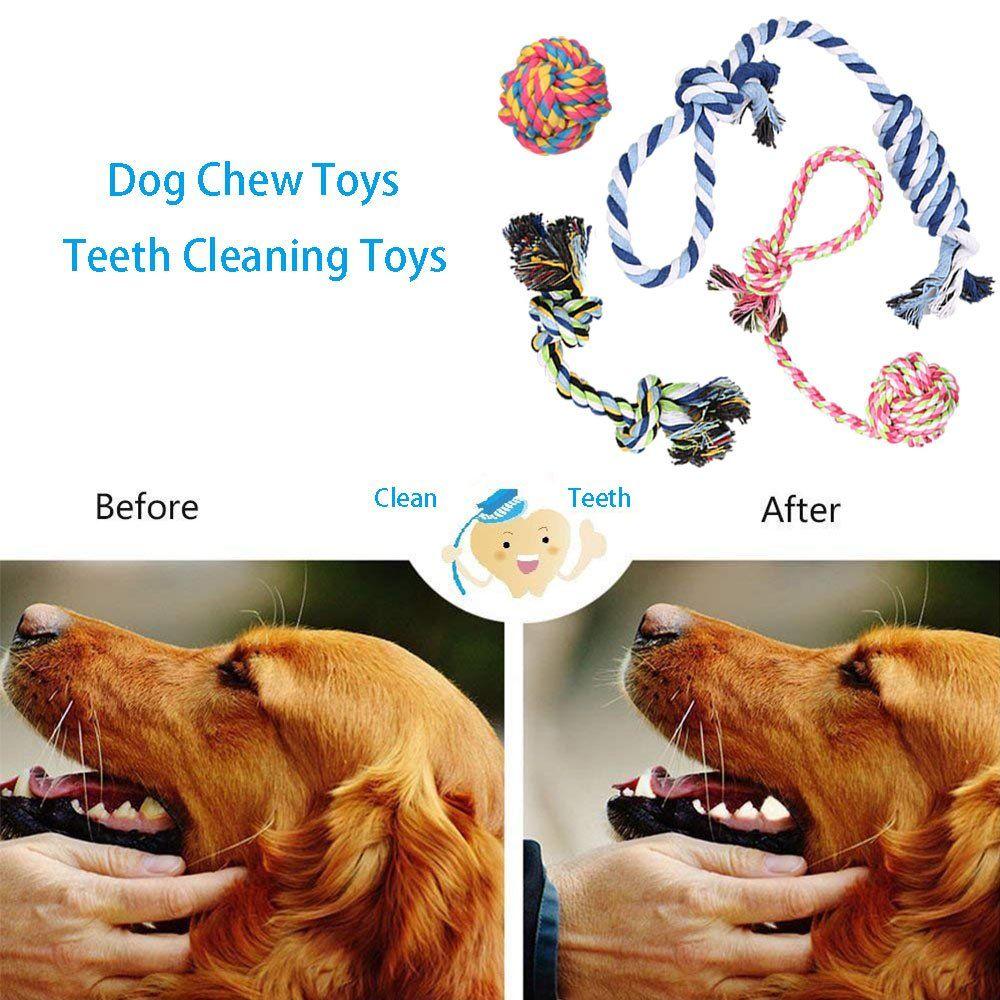 Dog Chew Toys Puppy Teething Toys Dog Toy Set Puppy Toys Medium