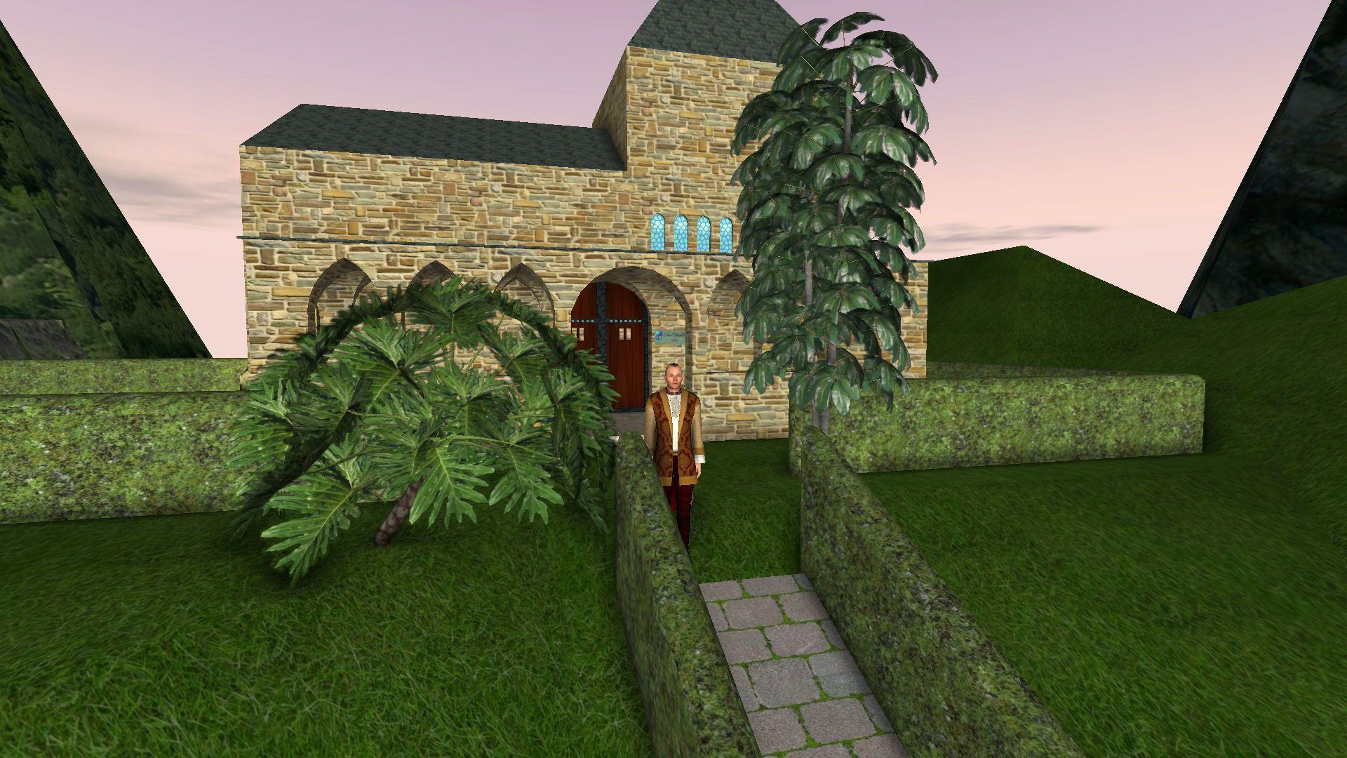 Una ermita con unas bellas vistas al Castillo de las Cabezas ...