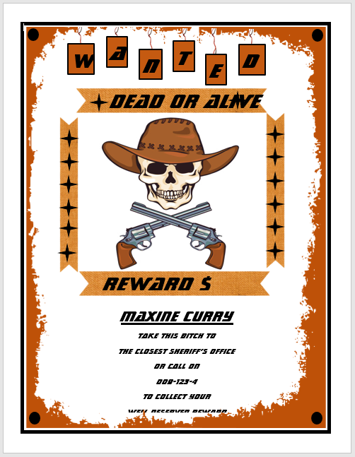 19 Wanted Poster Templates