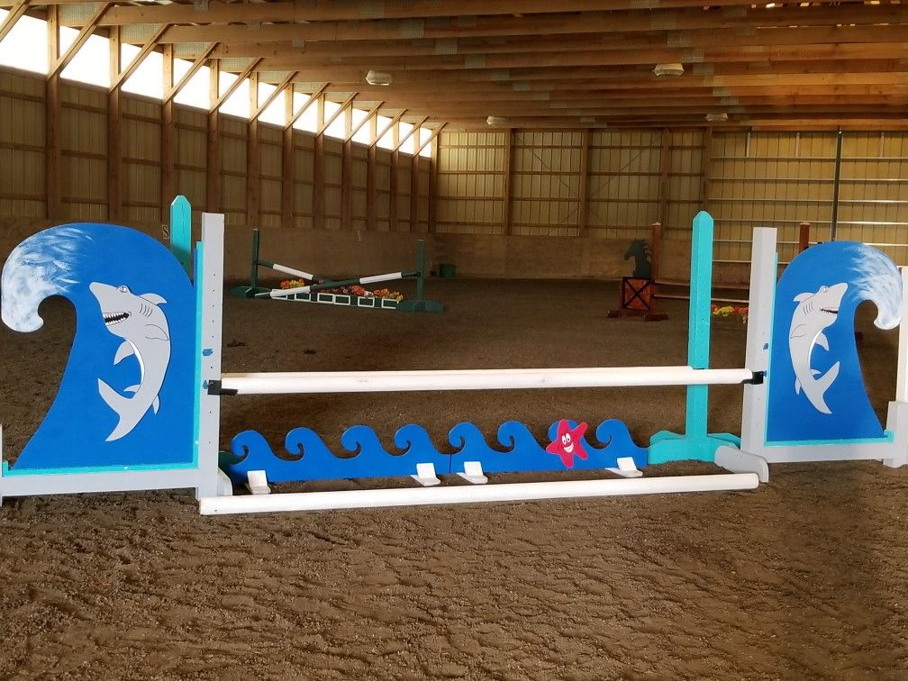 My shark wave jump Horse jumping, Show jumping, Olympic