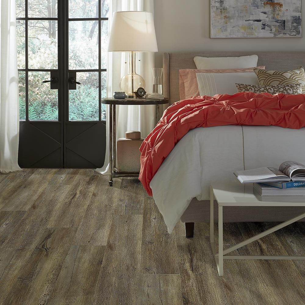 Shaw Alliant 7 in. x 48 in. Trail Resilient Vinyl Plank