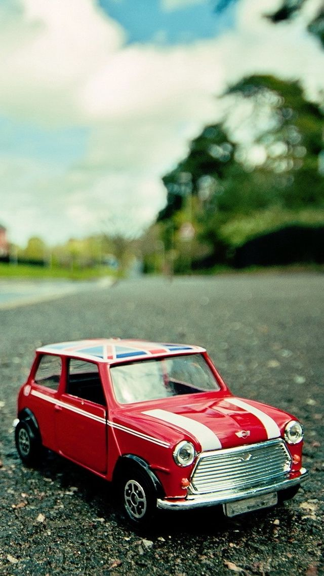 Toy Vintage Car Mini Cooper Iphone Wallpaper At Mobile9 Iphone 8