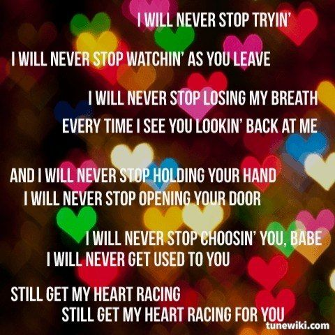 Never Stop By Safetysuit Love Songs Lyrics Music Lyrics Music Quotes