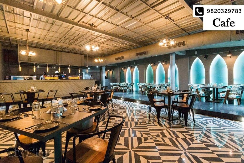 A salad bar cafe and restaurant together under one roof
