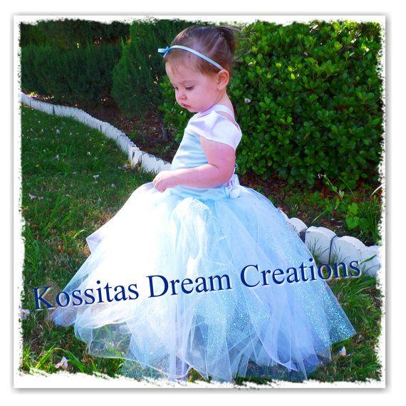Cinderella Tutu Dress Aurora Tutu Dress Sleepy Beauty by Kossitas, $75.00