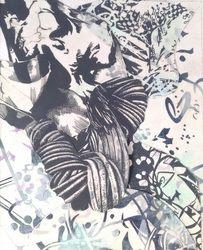 Drawings, Mixed Media - David D'Andrade