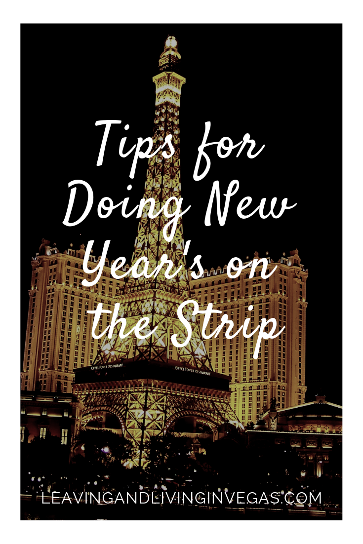 Tips for Doing New Year's on The Strip Stripping, Tips