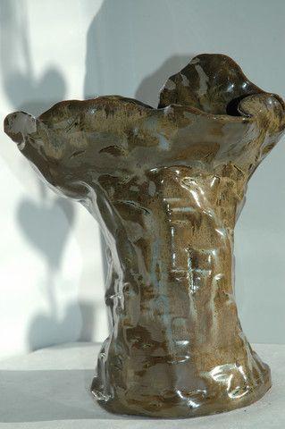 Exhibition. Large Sculpture Vase.