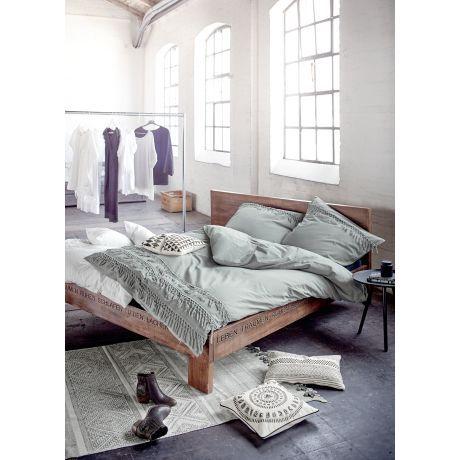 Bett, Natur-Look, Mango Holz Katalogbild bedroom Pinterest
