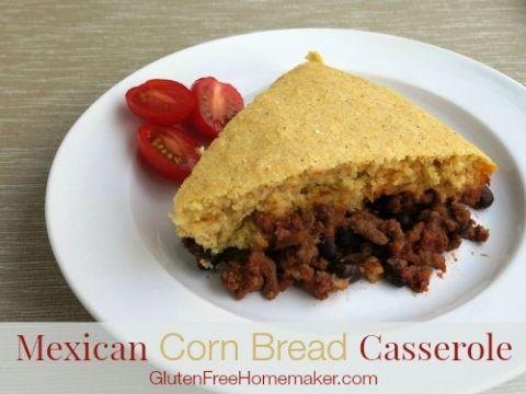 Mexican Casserole #mexicancornbreadcasserole