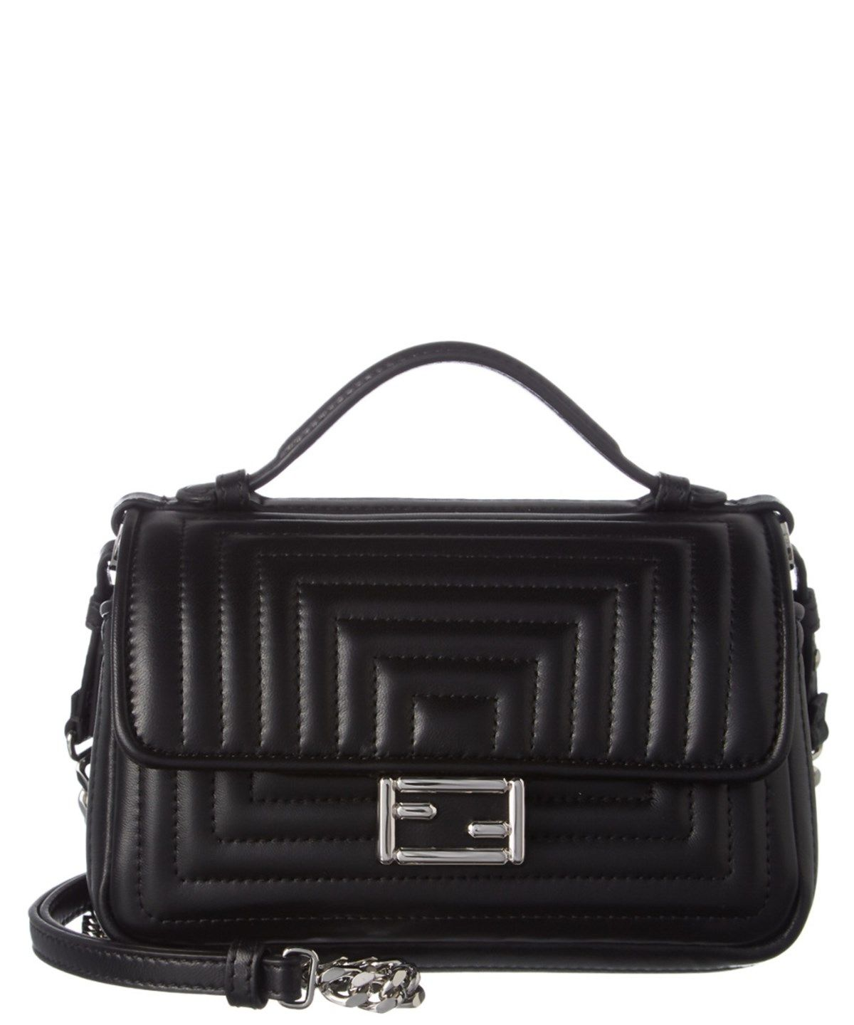d503af6580e2 FENDI FENDI DOUBLE MICRO QUILTED LEATHER BAGUETTE .  fendi  bags  shoulder  bags  hand bags  leather  lining