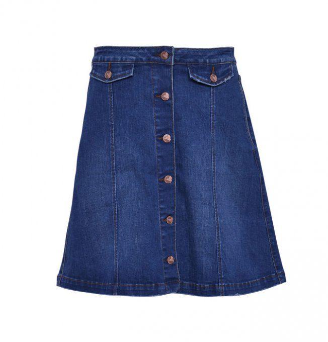 Comment trouver une jupe en jean qui a du style ?