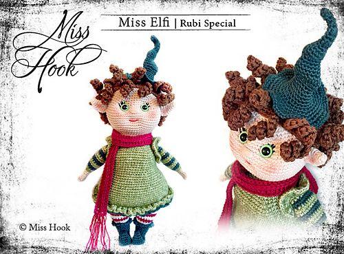 Tutorial Elfi Amigurumi : Elfi will be translated in english and dutch crochet toys