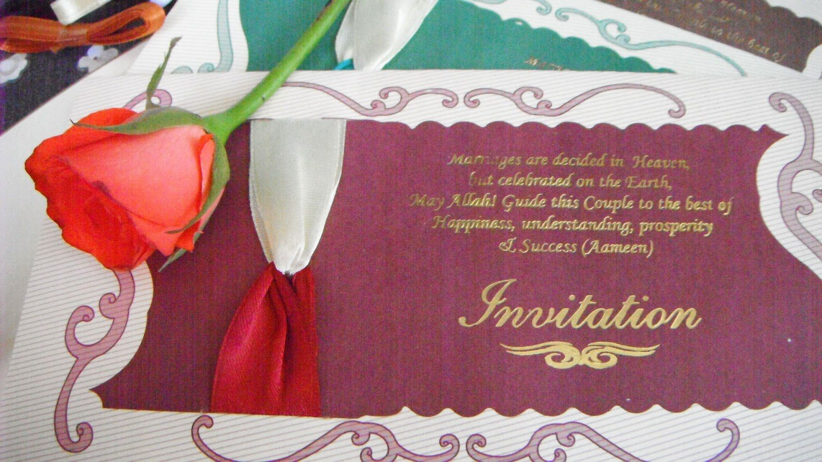 marriage invitation card design online free | wedding invitations ...