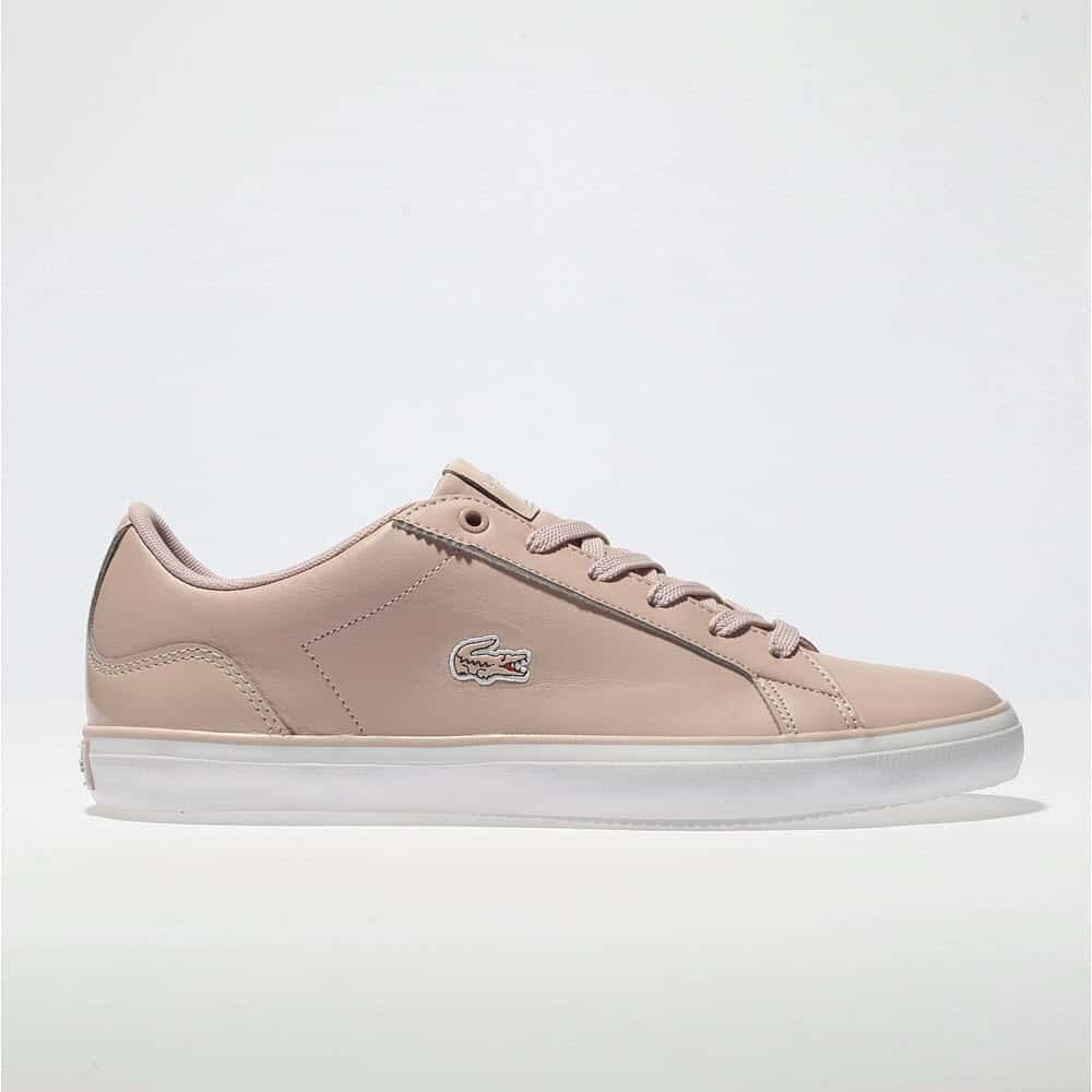 womens pale pink lacoste lerond