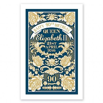 Commemorative Tea Towel   Gifts & Gadgets   Qwerkity   £9.99