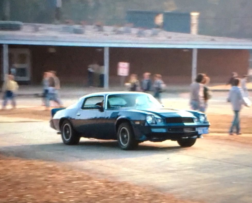 His 78 Camaro Is Its Own Character Jus About It Stranger Things