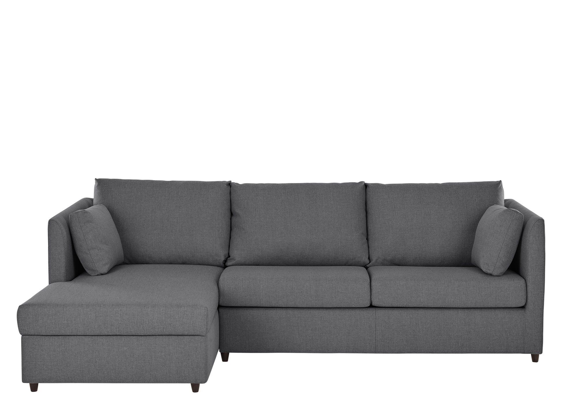 Made Night Grey Corner Sofa Bed Sofa Bed Corner Storage Foam