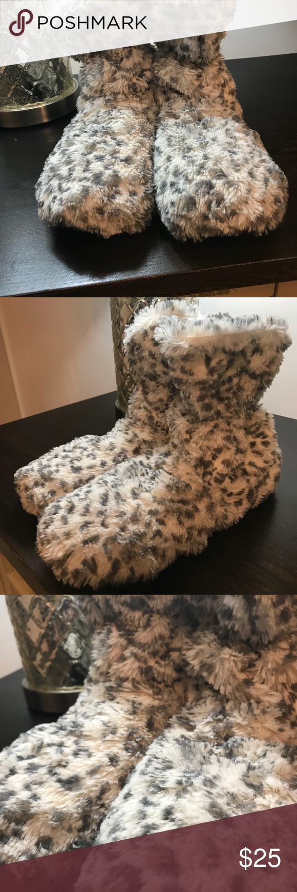 Intelex warmies cozy boots fully microwaveable cozy ankle intelex warmies cozy boots fully microwaveable solutioingenieria Images