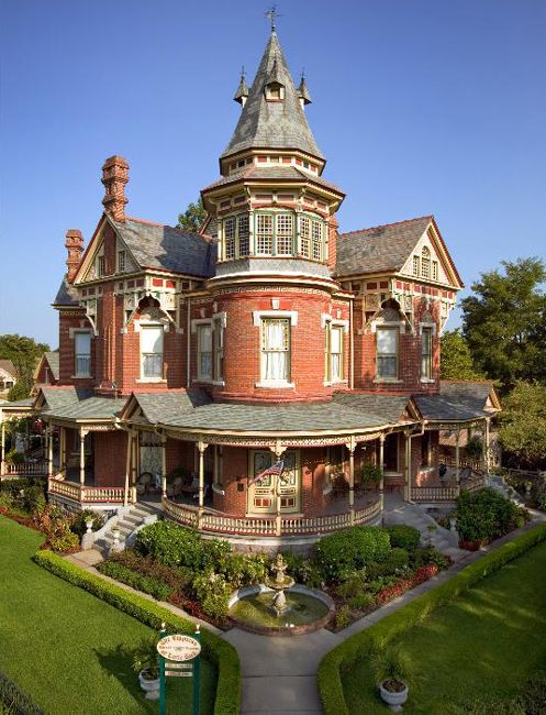 This Opulent Victorian Bed And Breakfast For Sale In Little Rock Arkansas Is On