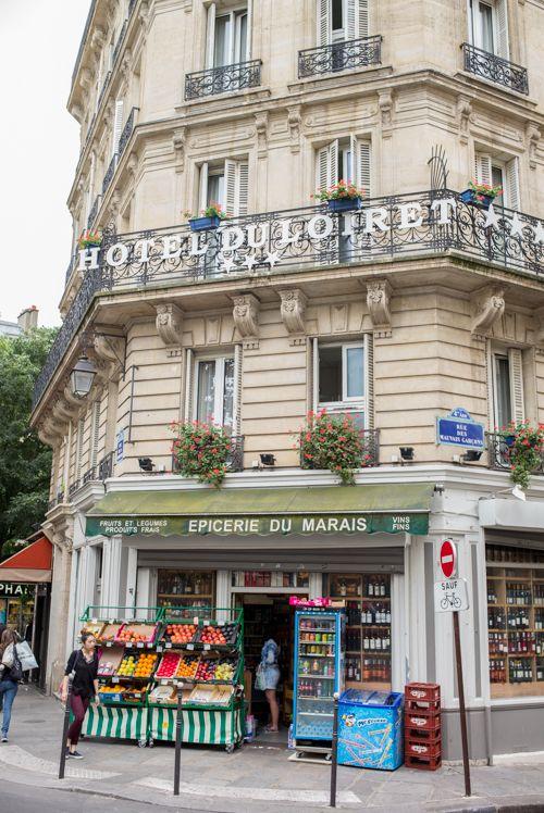Hotel Du Loiret and Epicerie Du Marais, Paris, France | I\'d ❤ to ...