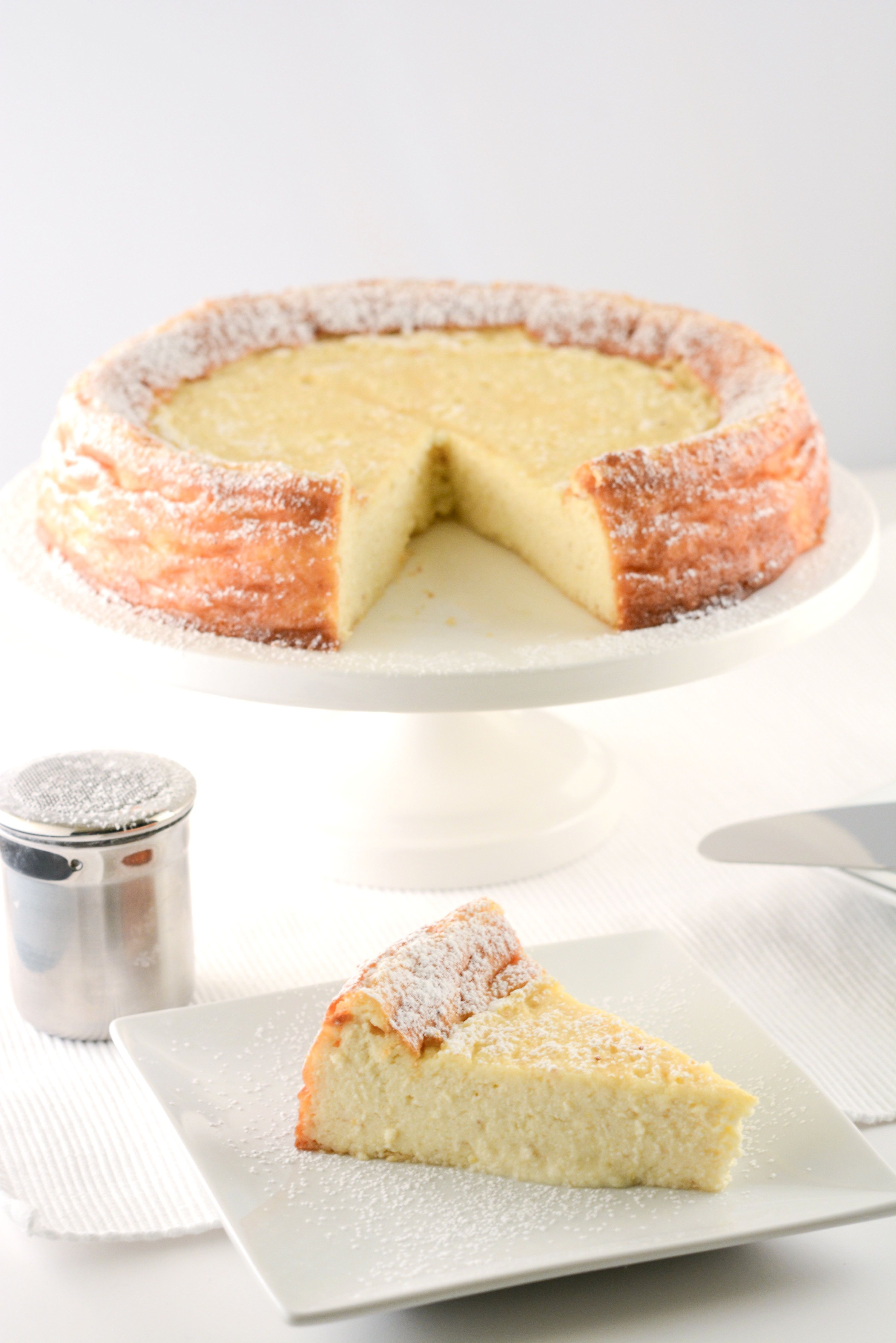Ricotta cheesecake--Am thinking about making this for the Christmas ...