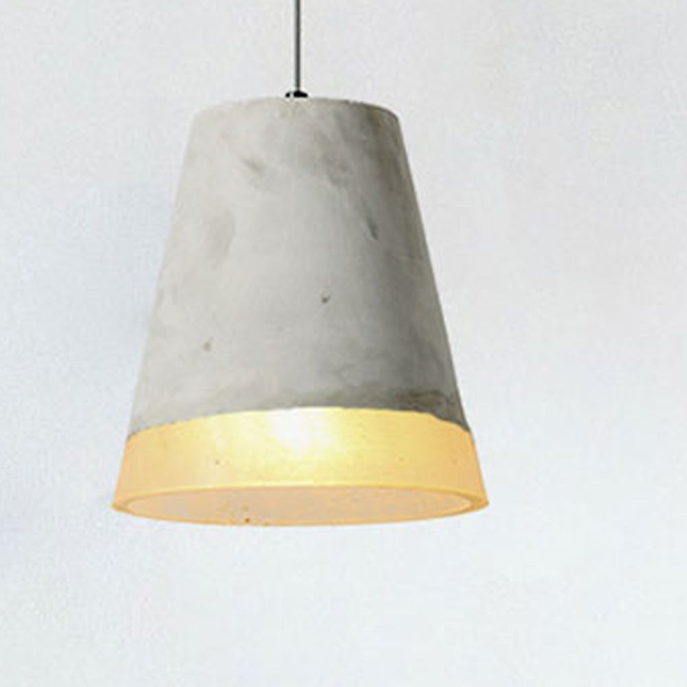 Skylar concrete pendant lamp grey xcm by the art of lighting
