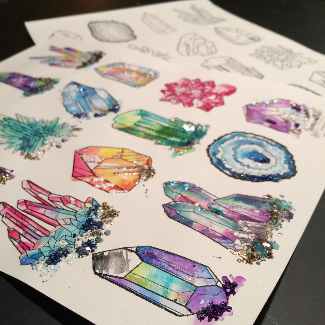 Beautiful Rocks And Minerals Coloring Pages Free