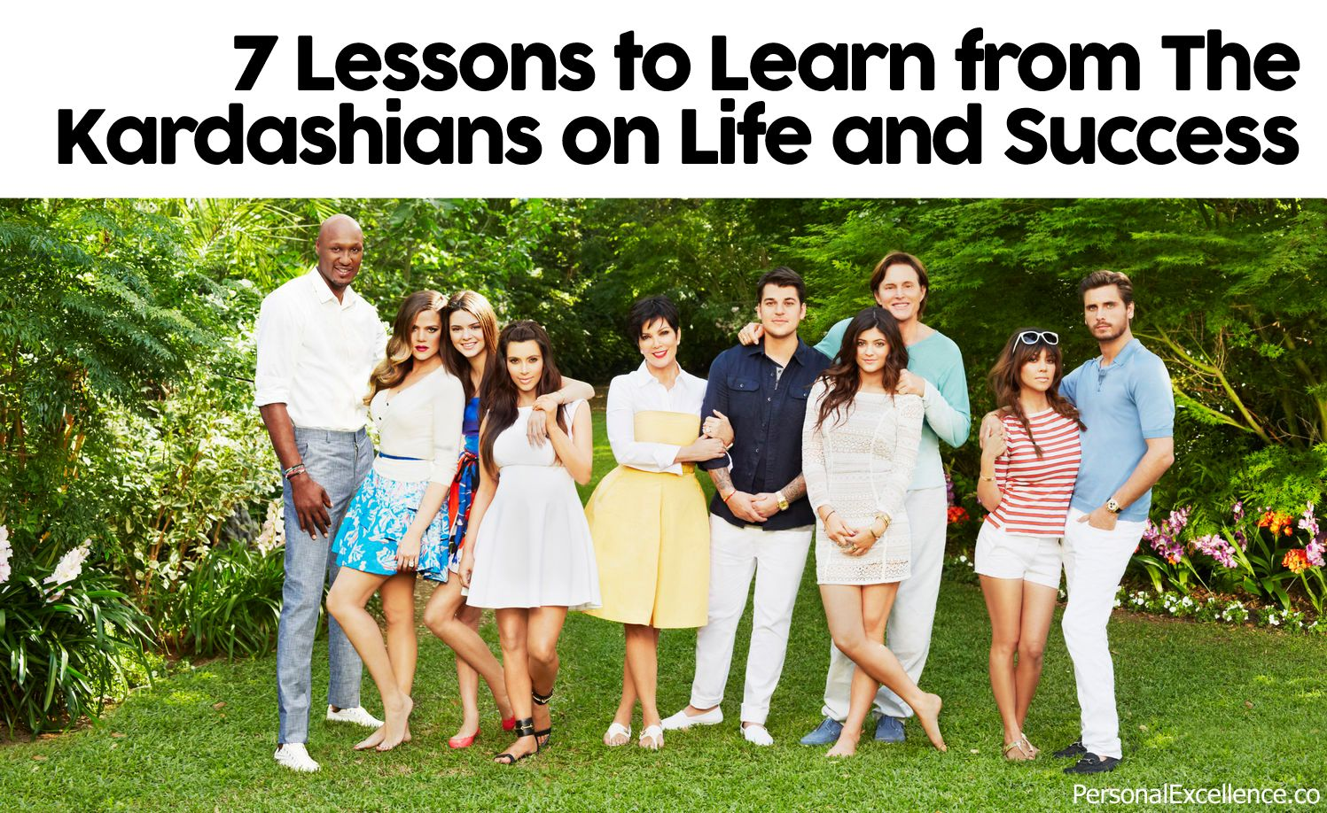 Some of you must be wondering what I'm up to, writing about the Kardashians. Given the Kardashians' huge successes, I think there is something we can learn from them. Contrary to what some may think, I actually do not think that the Kardashians are stupid; I think they are everyday people had who found sudden fame and continue to remain famous because... Read more: http://personalexcellence.co/blog/kardashians/ #life #lessons #lifelessons #kardashians #kimkardashian #fame #success