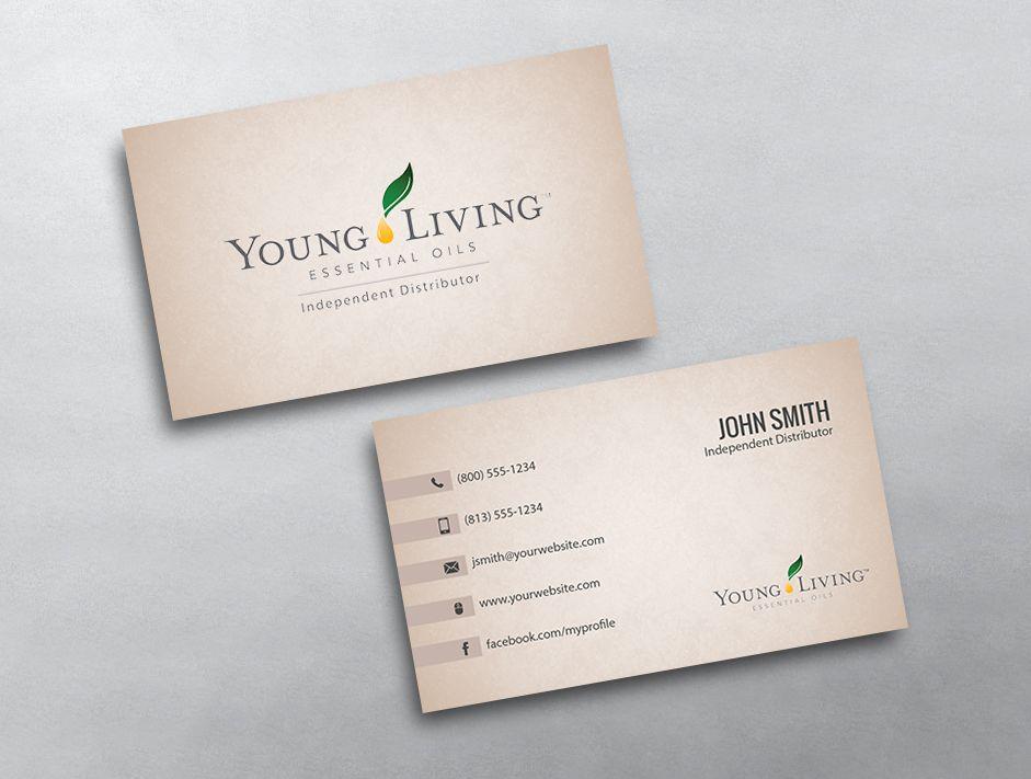 Beispiele Von Young Living Visitenkarten Mit Young Living