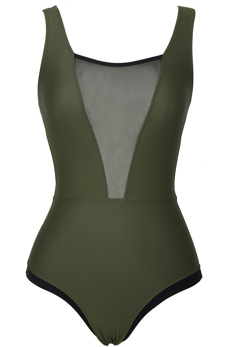 677ca41e7fde4 Glad You Are Here One-piece Swimsuit